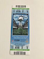 Super Bowl XLV 45 Full ticket stub authentic excellent!