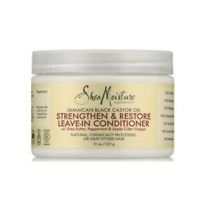 Shea Moisture Jamaican Black Castor Oil Strengthen &Restore Leave-In Conditioner