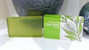 Clarifying Tea Tree Essential Oil Soap Bar For Sensitive Skin