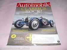 Automobile Magazine October 2016 Vintage Daytona Ferrari Ford GT 40 VW GTI