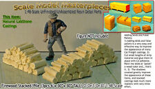 Firewood Stacks-3 Large Piles-YORKE/Scale Model Masterpieces On3/On30 Craftsman