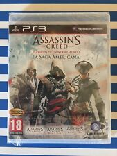 Assassin's Creed: La Saga Americana PS3 PRECINTADO!!!