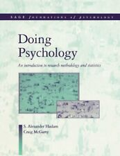 Doing Psychology: An Introduction to Research Methodology and Statistics (SAGE