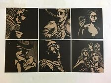 Anais Mitchell Hadestown Righteous Babe Records Album Insert Prints Set Of 6