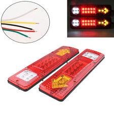 19 LED 5 Wire RV Truck Trailer Rear Tail Brake Reverse Turn Signal Light