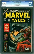 "MARVEL TALES #115 CGC 5.5 OWW ""THE MAN WITH NO FACE"" CGC #1197396002"