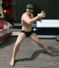 "1/12 Male Head Sculpt Phicen Flexible Seamless Muscle Man 6"" Figures Body"
