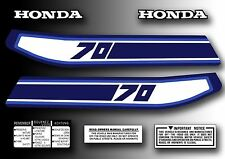 ATC 70 1981 Tank Decals Kit Stickers Set for Honda Trike