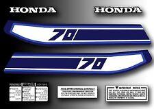ATC 70 1981 Tank Decals Kit Stickers Set for Honda Trike