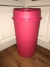 45L NEW PINK TOUCH TOP BIN DUSTBIN RUBBISH BIN KITCHEN HOME PLASTIC