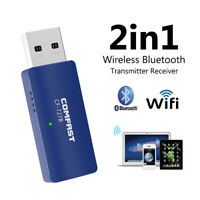 1200Mbps Wireless USB Wifi Adapter Dongle Dual Band 2.4G/5GHz Bluetooth 802.11AC