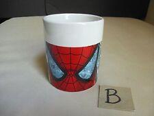 2007 Marvel Coffee Mug Cup Super Hero Spider-Man Silver Surfer Wolverine Squad B