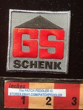 Nuremberg Germany Construction Company Patch ~ GS Schenk 62T3