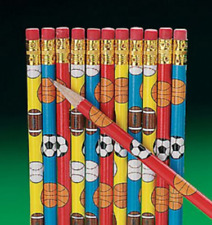 Sports Themed Pencils Party Favors (12)