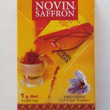 4x250 mg Safran Pulver Powder 1 g gemahlen  Qualitätsstufe P1