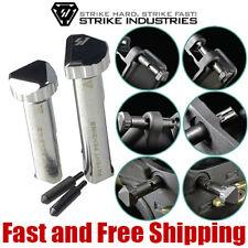 Strike Industries SHIFT Quick Detach Takedown Pins w/ Enhanced Detents - Chrome
