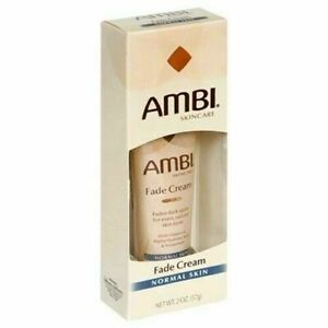 AMBI FADE CREME FOR NORMAL SKIN 2OZ - 2 PACKS - MADE IN USA - FREE SHIPPING