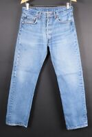 Vintage LEVI'S 501 Button Fly Denim Jeans Mens Size 33x34 Actual (30x31)