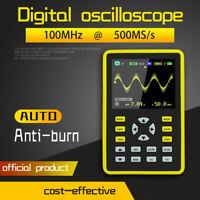 "ADS5012H 2.4"" LCD Screen Digital Mini Oscilloscope 100MHz Bandwidth 500MS/s"