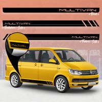VW T4 T5 T6 Seiten-Streifen Kit Pegatinas, Decoración Bus en Color - Multivan