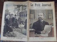 LE PETIT JOURNAL N°363 31/10/ 1897 LE JOUR DES MORTS EN BRETAGNE