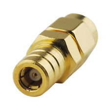 SMA Male to SMB Female straight plug  RF connector adapter  - UK Seller