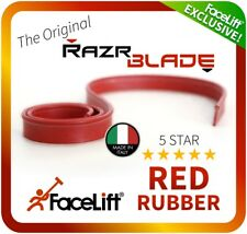 FaceLift® RazrBLADE RED Squeegee Rubber Window Cleaning Traditional