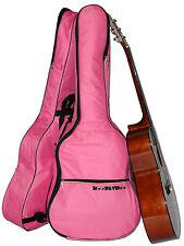 Rosa Custodia per Chitarra Gig Bag per le chitarre acustiche e classica