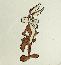 Wile E Coyote Hand Tinted Ltd Ed Art Etching Looney Tunes 1999 Make Offer!