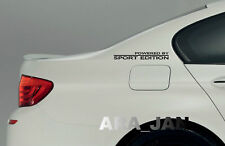 Powered by SPORT EDITION Decal Sticker Racing Car Performance Motorsport PAIR
