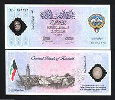 KUWAIT 1 DINAR P- CS2 2001 POLYMER COMMEMORATIVE CAMEL MONEY GCC ARAB GULF NOTE