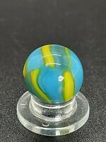 """🔥Peltier Glass Co. Vintage Peltier NLR Cubscout Marble 0.591"""" NM-M🔥"""