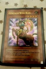 Yu Gi Oh Card - Centaur Wise Man
