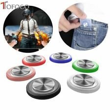 Round Game Joystick Mobile Phone Rocker For Iphone Android Tablet Metal Button