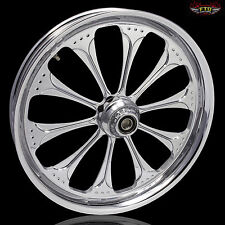 "Harley Davidson Road Glide 21"" Inch Chrome Wheel ""Wizard"" Harley Wheels"