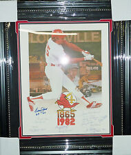 ~~Louisville Redbirds Signed Framed Legends Litho Pee Wee Reese JSA LOA X50571~~
