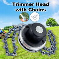 65Mn Coil Chain Saw Brush Cutter Garden Grass Trimmer Head for Lawnmower