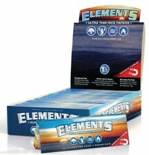 Elements 1.25 Rolling Paper - 15 PACKS - Natural Ultra Thin Rice 1 1/4 Size