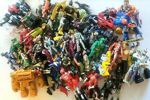 mixed action figure lot Star Wars GI JOE  Power Rangers & MORE- WOW 75 Figures!