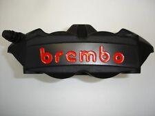 Brembo Radial Cast Monobloc M4 Caliper (black series) Left Side, 100mm Mount