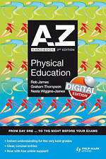 A-Z Physical Education Handbook + Online 3rd Edition (Complete A-Z), Wiggins-Jam