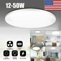 US LED Surface Flush Mount Ceiling Down Light Bedroom Kitchen Round Panel Light
