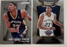 NBA Cards 2014-15 Panini Prizm #107 / Select #15 Anthony Davis