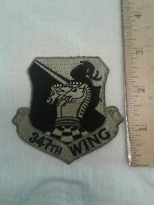 Patch - US Military Air Force USAF 347th Wing