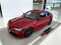 Alfa Romeo Giulia Quadrifoglio Rosso Competizione, Ltd 010/299 pc BBR 1/18