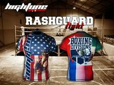HighType Boxing Divisions Rash Guard Boxing Fightwear Compression