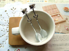 Drink Tea Coffee Spoon Love Sweet Bridal Shower Wedding Party Favor Gift Great