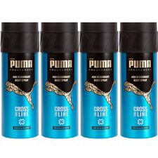 Puma 48H Deo Spray Body Spray CROSS THE LINE 4 x 150 ml