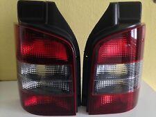 "LUCES TRASERAS Kit VW T5 BUS, Caja"" Fumar "", Rojo Negro ! para T5 con portón"