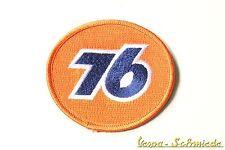 "Aufnäher ""76"" - Vespa Auto Rally Racing Race Formel 1 Steve McQueen Gulf Patch"